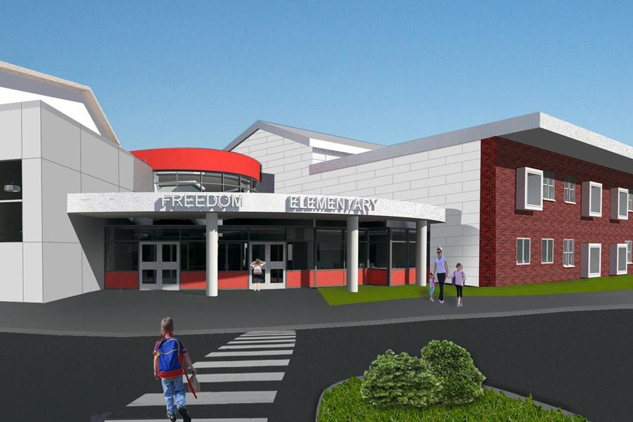 Freedom Area Breaks Ground For New Elementary School